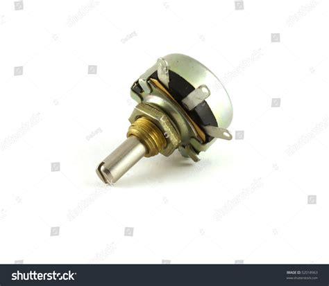 photo variable resistor electronic components variable resistor stock photo 52018963