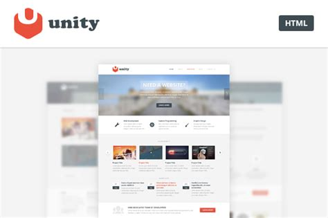 unity template unity multipurpose html template bestwebsoft