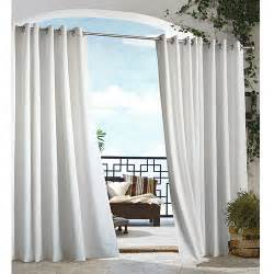 Outdoor Gazebo With Curtains Gazebo Indoor Outdoor Curtain Panel White Boscov S