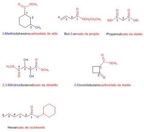 ester quimica nomenclatura de 201 steres problema 13 3