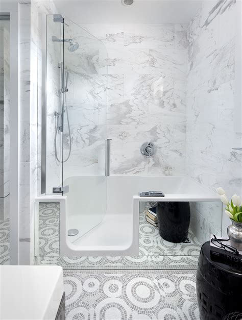 walk in shower and bath combinations bathe in style home trends magazine