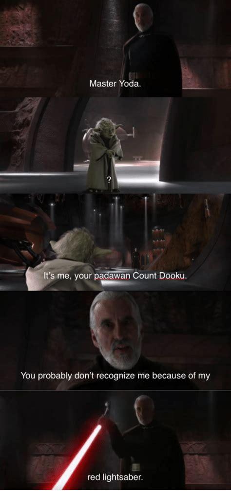Count Dooku Meme - 25 best memes about master yoda master yoda memes
