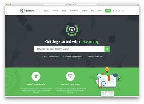 the best wordpress learning theme for school 2017