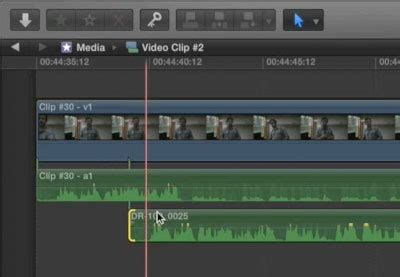 final cut pro unlink audio and video how to synchronize interview audio and video in final cut