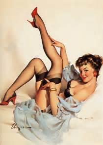 Pinup Shower Curtain - vintage 50s pin up girls 50s pin ups girls gil elvgren
