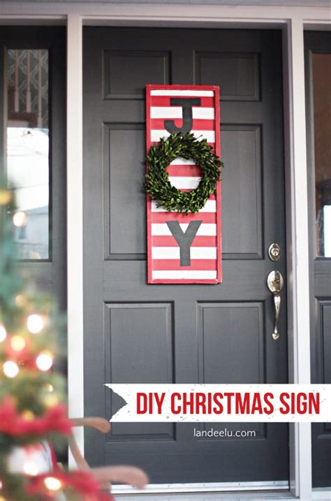 joy diy christmas sign landeelu com