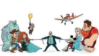 Pixars pixar vs disney animation john lasseter s tricky tug of war