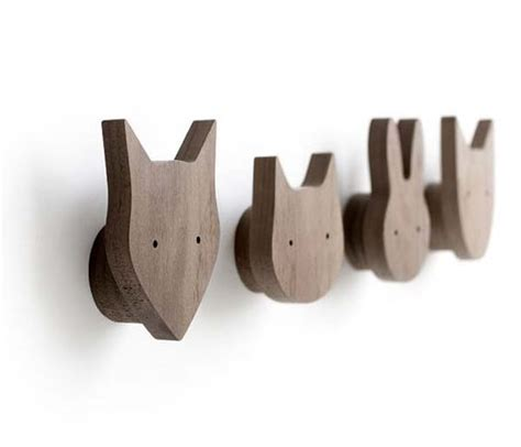 wall hooks  childrens rooms petit small