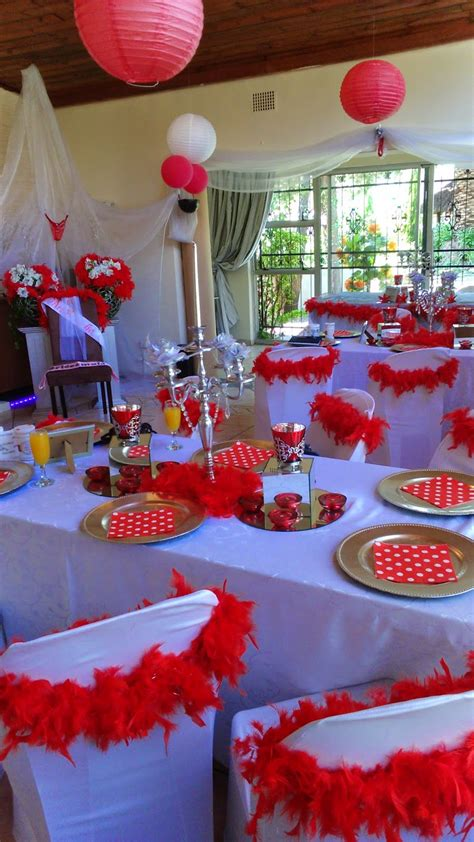 bridal shower supplies south africa boutique venue with setups and halaal catering bridal shower decorations venue and