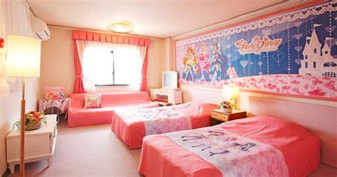 anime hotel japan magical anime precure has its own themed hotel rooms