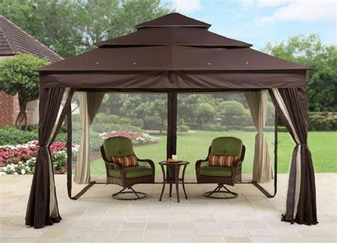 Gazebo Design Interesting Patio Gazebo Walmart Patio Patio Gazebo Walmart