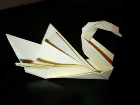 Paper Folding Swan - origami swan