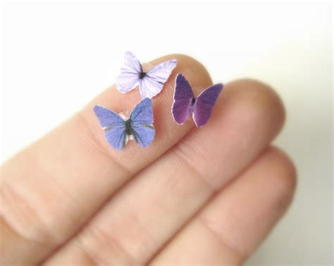 How To Make Small Paper Butterflies - butterfly eye decals