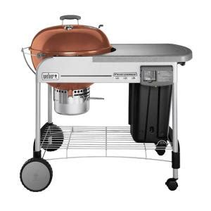 Weber Grills Home Depot by Weber Performer Platinum 22 1 2 In Charcoal Grill In