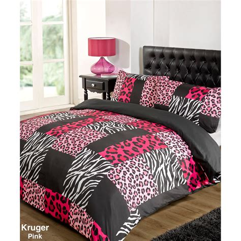 Pink Set pink cheetah print bedroom set and photos