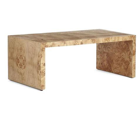burl wood side table oslo burl wood veneer side table