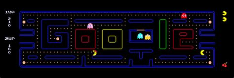 pac doodle pacman two player image search results