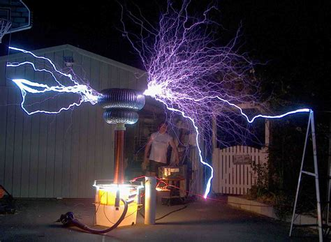 Tesla Coil Experiment Free Energy Nikola Tesla