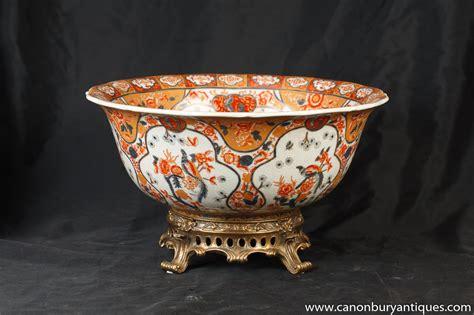 Porcelain Planters by Japanese Imari Porcelain Dish Urn Planter Ormolu Stand