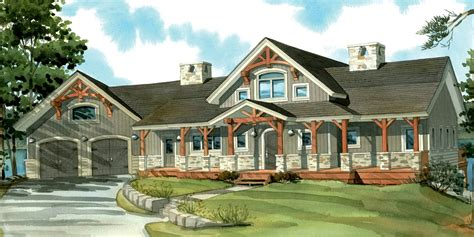 craftsman home plans one craftsman house plans with porches