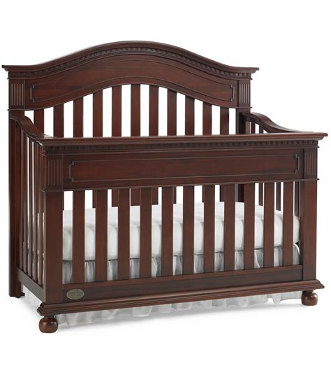 Baby Crib Cherry Dolce Babi Naples Convertible Crib In Cherry