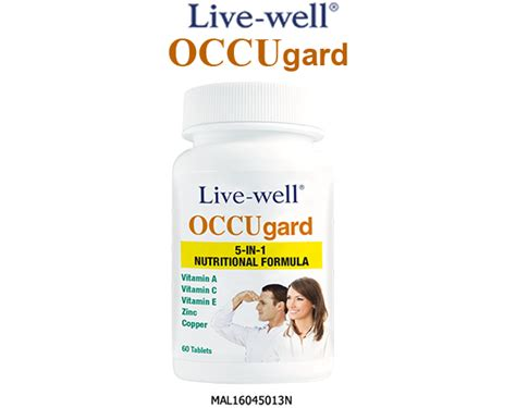 Vitamin C Live Well Live Well Occugard Occusharp The Trusted Name For