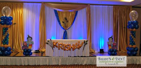 krishna themed birthday