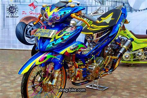 Jupiter Z Modif Airbrush by 40 Foto Gambar Modifikasi Jupiter Z Kontes Racing Look