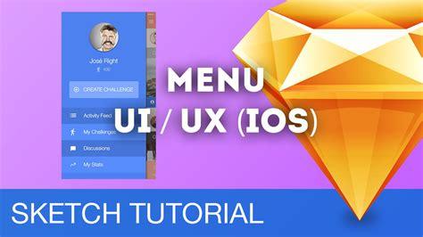 sketchbook ios tutorial sketch 3 tutorial menu ui ux ios sketchapp tutorial