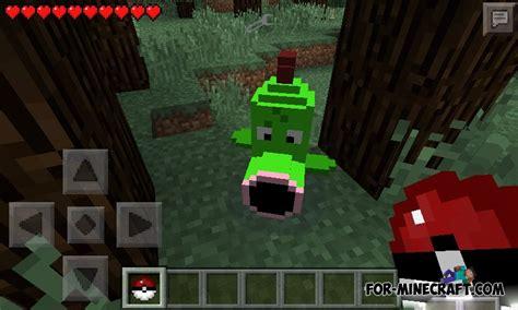 pokecube minecraft pe mods addons pokemon mod for minecraft pe 0 9 5