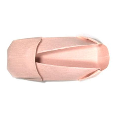 Origami Ballet Shoes - how to make a ballet origami shoe page 20