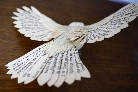How To Make A Paper Bird That Can Fly - i make paper and wood birds by cutting every feather