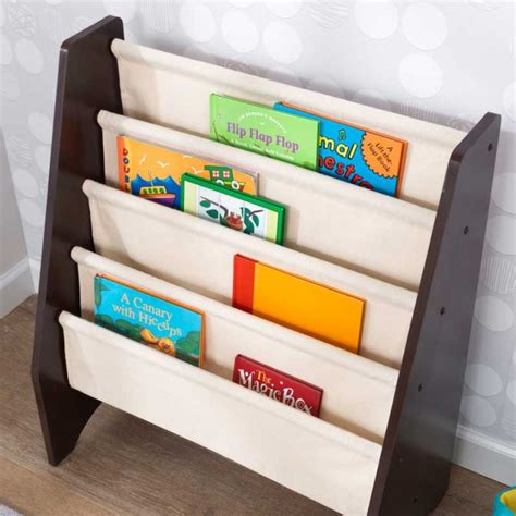 sling bookshelf espresso