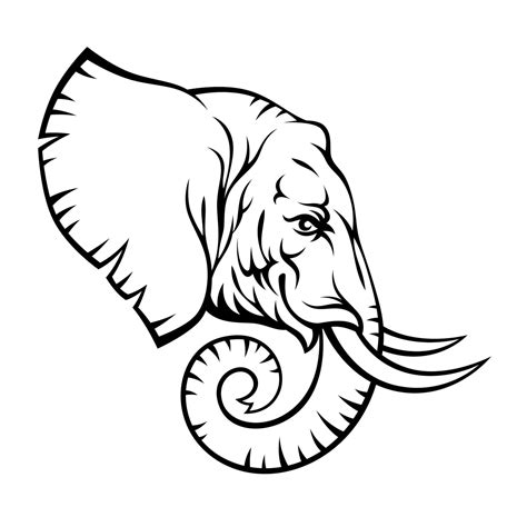 Elephant Tattoo Stencils | 9 elephant tribal tattoo designs and pictures
