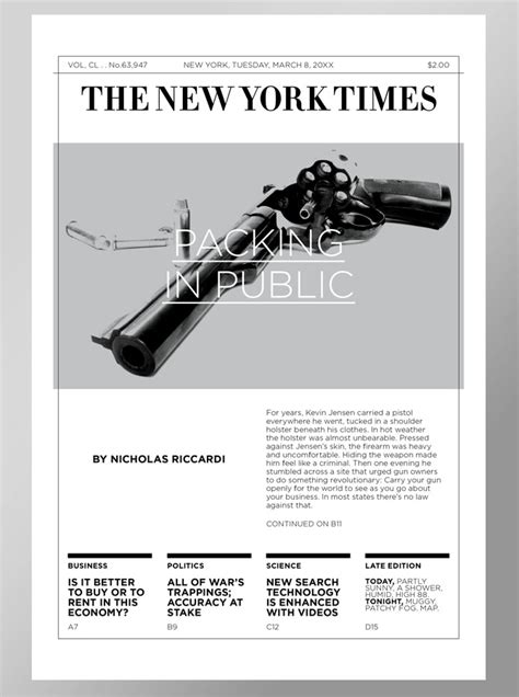 a redesigned new york times magazine table of contents new york times redesign dangerhimself