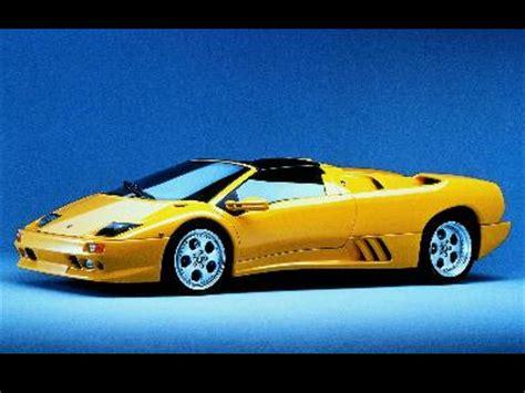 2003 Lamborghini Diablo 2003 Lamborghini Diablo Roadster Specifications