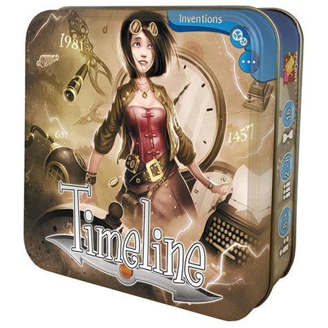 Asmodee Nouvelle Invention timeline jeu de soci 233 t 233 le coin du jeu