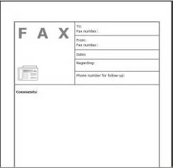 Printable fax cover sheet artistinaction