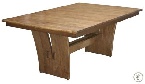 amish artisans collaborate to create a new solid wood furniture design the custer dining set 1000 images about contemporary furniture on pinterest