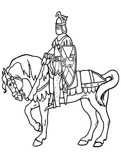 coloring pages of knights and horses and coloring page real drawing