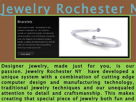 Handmade Jewelry Rochester Ny - custom jewelry design rochester ny by best jeweler in