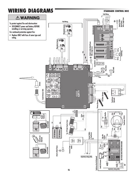 master lift wiring diagram 28 images liftmaster