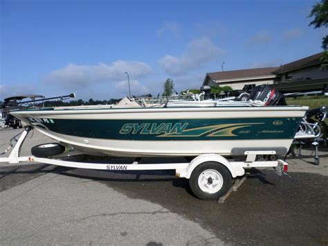 sylvan explorer boats sylvan 1600 boats for sale