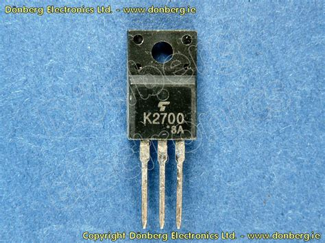 katalog transistor fet halbleiter 2sk2700 2sk 2700 n fet 900v 3a 40w 3 7e55
