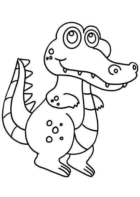 Coloriage Crocodile Marrant 224 Imprimer