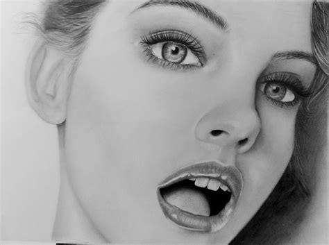 dibujos no realistas dibujo realista barbara palvin arte taringa