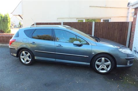 peugeot 407 estate peugeot 407 estate 2 0 hdi diesel sw executive 2005