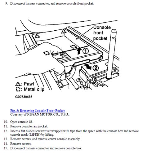 how to remove lower console 2010 nissan maxima service manual how to remove lower console 2005 nissan murano remove center console 2006