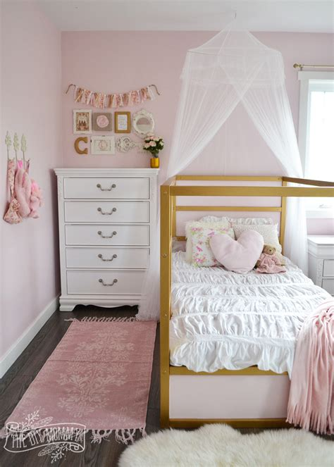 girls shabby chic bedroom ideas a shabby chic glam girls bedroom design idea in blush pink