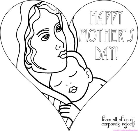 Coloring Page Ideas by S Day Drawing Ideas Mothers Day Coloring Pages